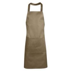Hospitality, Waiters Bib Apron - Beige