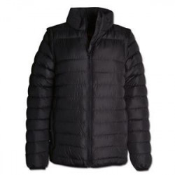 Ladies Zip-Off Sleeve Puffer - Jacket Winter Jacket