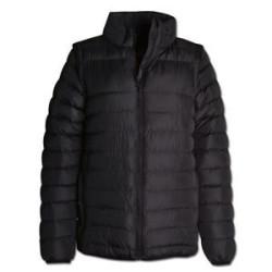 Ladies Zip-Off Sleeve Puffer - Jacket Winter Jacket