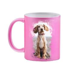 Photo Mug - Glitter Pink | Mug Printing