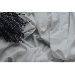 3/4 Hotel Flat Sheet 100% Cotton White - Quality Hotel Supply Range