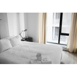 Double Bed Hotel Quality 100% Cotton Duvet Cover - Guesthouse Quality Range