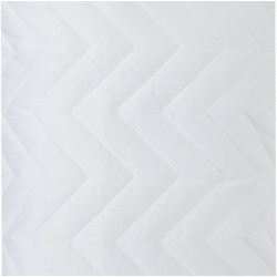 Pillow Protector -Waterproof, Quilted (White,)