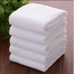 Guesthouse Quality White Bathroom Face Cloth