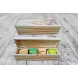 Tea Box (Long) - Pine
