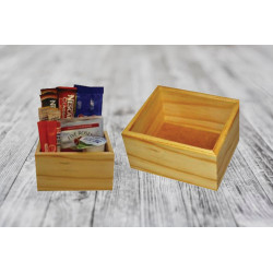 Beverage Box (Single/Double/Triple) - Pine