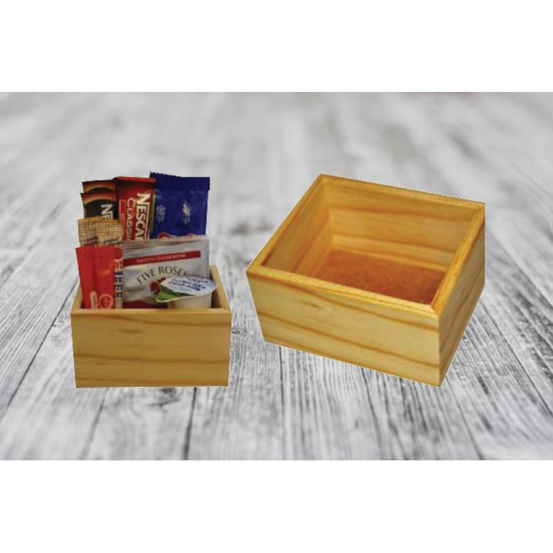 Beverage Box Single - Pine