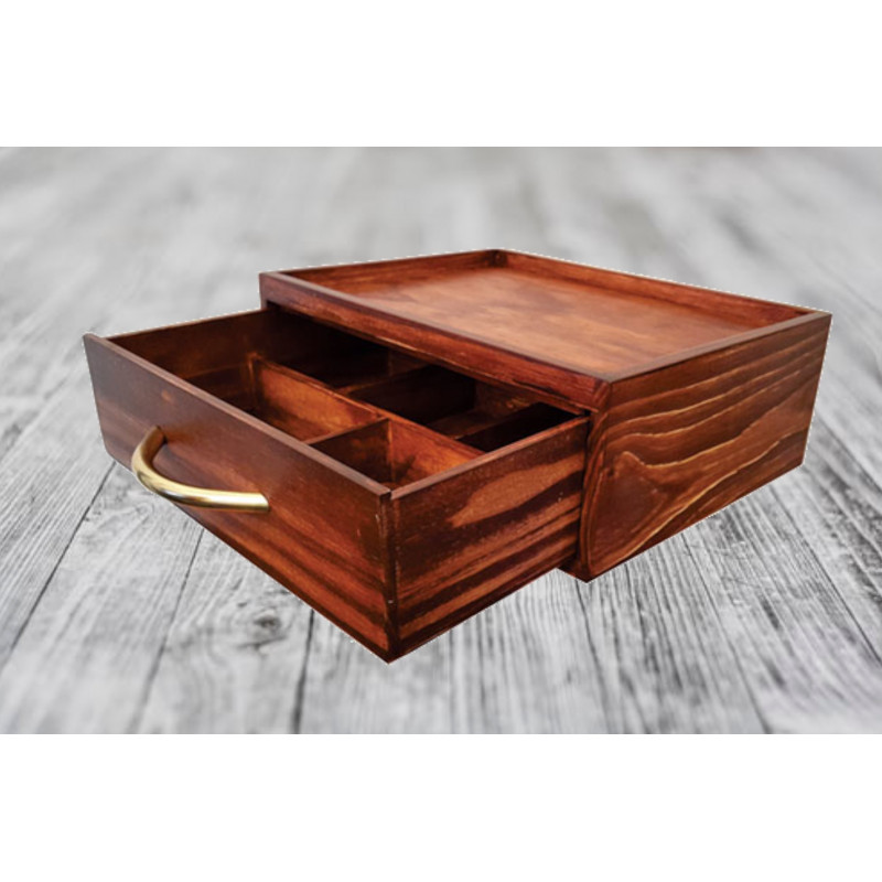 Tea Station With Drawer
