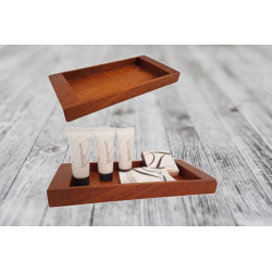 Tray - Bathroom Amenities Pine