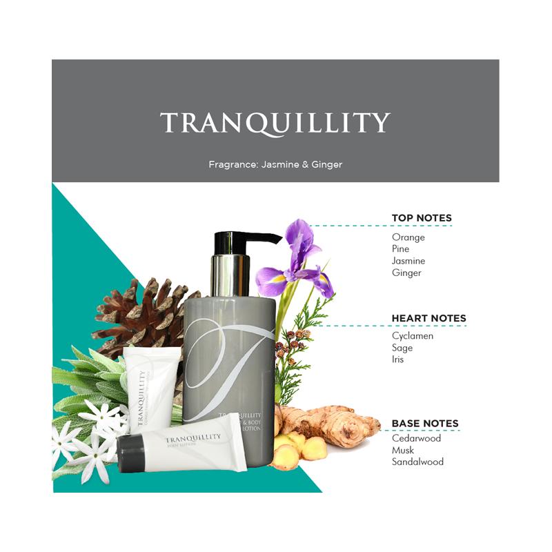 Shampoo / Body Lotion / Body Wash - Tranquillity hotel soap