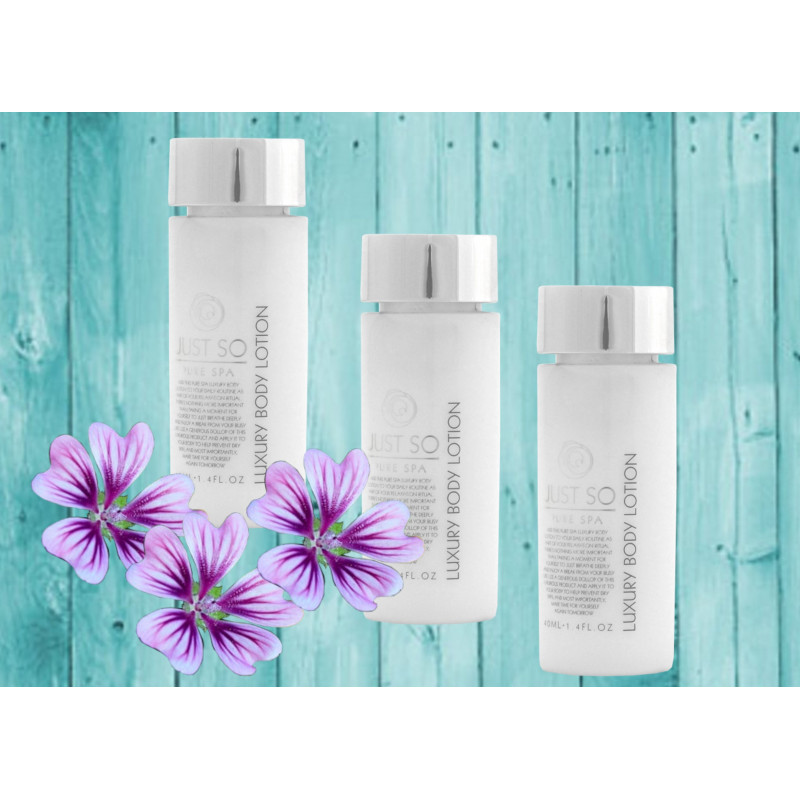 Hotel Shampoo / Body Lotion / Body Wash - Just so Pure Spa