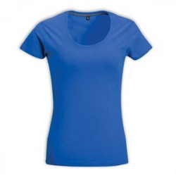Ladies Fitted T-shirt  Blue