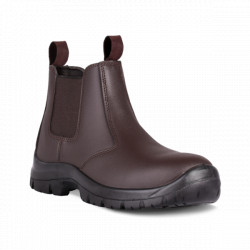 Safety Boot - Chelsea Brown