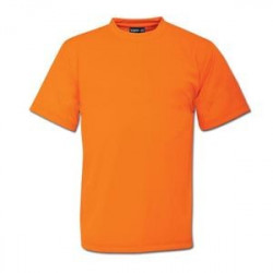 High Visibility T-Shirt - Plain - Branded - Orange