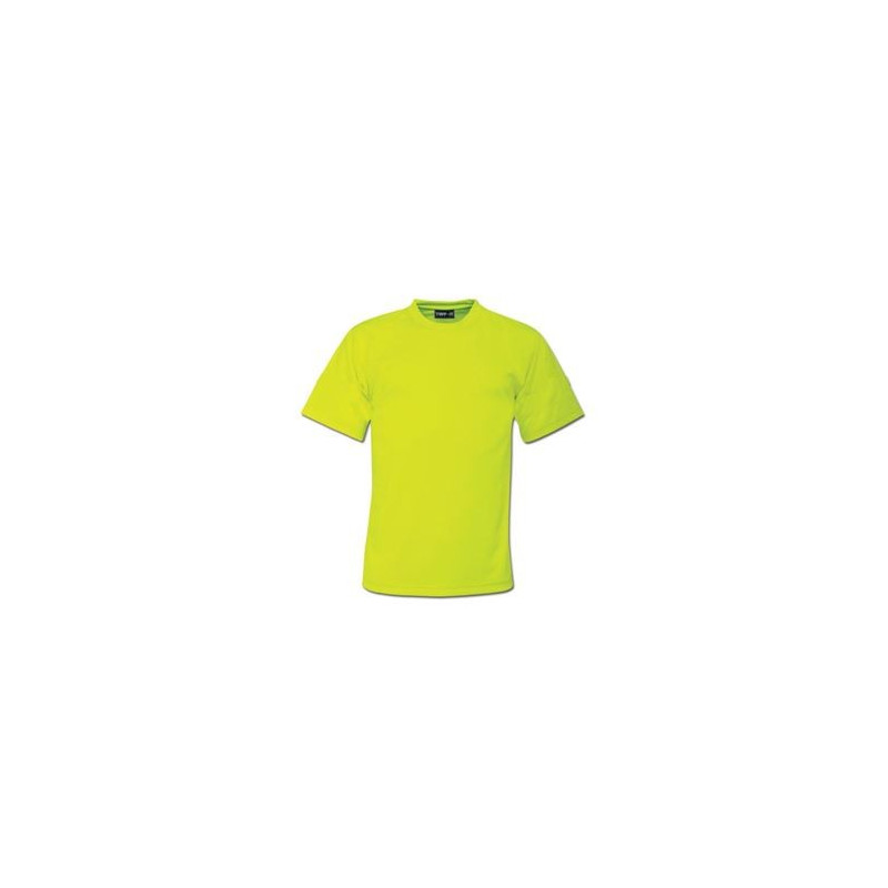 High Visibility T-Shirt - Plain - Branded - Yellow