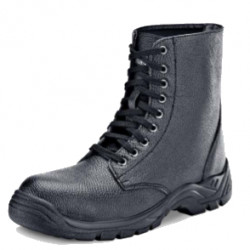 Safety Boot - Leather Combat