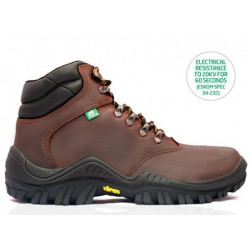 BOVA Nebula Vibram Safety Boot Chocolate Brown