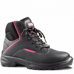 Reese Boot Black/Pink Trim