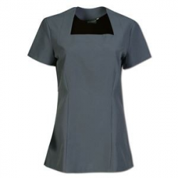 Lily Beauty Therapist Tops - Grey
