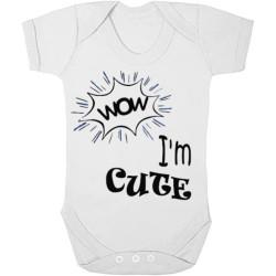 Babygrow - Wow, I'm Cute...