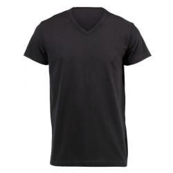 Plain V-Neck T-Shirt (160g)
