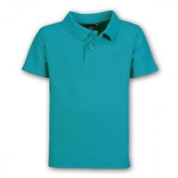 Kids Pique Knit Polo - Plain