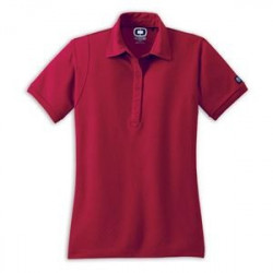 Ladies Jewel Polo - Maroon