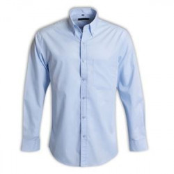 Cameron Shirt - Long Sleeve - Light Blue - Workwear