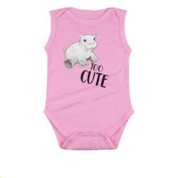 Too Cute Babygrow - Pink