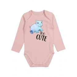 Too Cute - Long Sleeve Babygrow