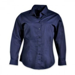 Ladies Shirt - Long Sleeve - Navy