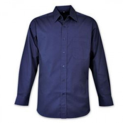 Classic Shirt - Long Sleeve - Brandable uniform - Navy