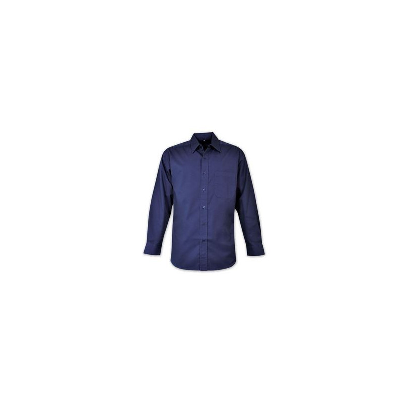 Classic Shirt - Long Sleeve - Brandable uniform - Navy - Workwear