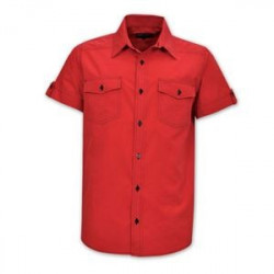Shirt - Brandable Uniform - Red Workwear