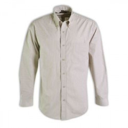 Shirt - Striped Long Sleeve - Workwear