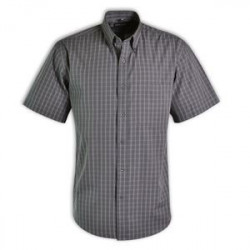 Cameron Shirt - Check Short Sleeve - Corporate clothing