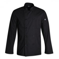 Gordon Chef Jacket Black